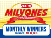 Milyones Monthly Winners